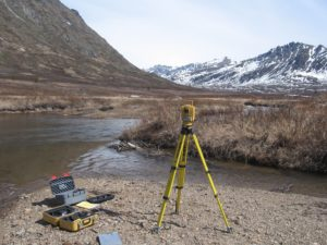 Groundwater Monitoring by Terrasat Inc environmental engineers at Lucky Shot Mine